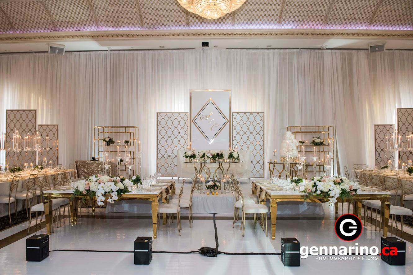 Le Jardin wedding venue in Ontario